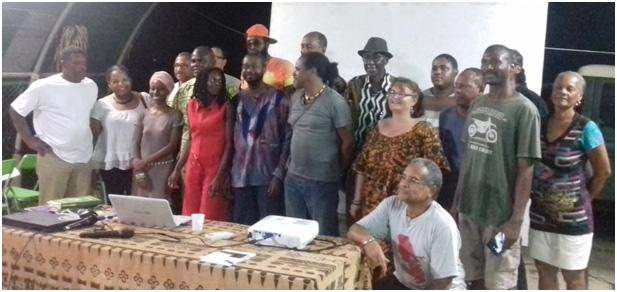 Palabres sans frontieres en Martinique